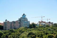 Nowy miasteczko w Kijów Zdjęcie Royalty Free