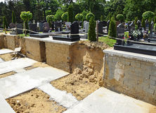Nowy miejsce dla crypt Obraz Royalty Free