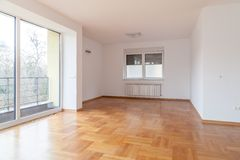 nowy mieszkania wnętrze Zdjęcia Stock
