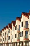 Nowy mieszkanie kompleks Obraz Stock