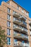 Nowy mieszkanie dom w Hamburg Obraz Royalty Free
