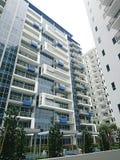 Nowy mieszkanie własnościowe Santorini Zdjęcia Stock