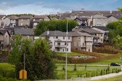 Nowy mieszkaniowy okręg Zdjęcie Royalty Free