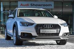 Nowy model 4WD skrzyżowania Audi A4 allroad quattro samochód Fotografia Stock