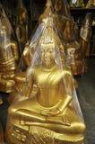Nowy Mosiężny Buddha Opakunek Obrazy Stock