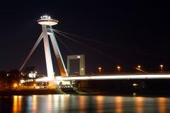 Nowy most zdjęcie royalty free