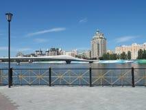 Nowy most w Astana fotografia royalty free