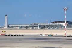 Nowy Muszkatołowy lotnisko międzynarodowe Obraz Royalty Free