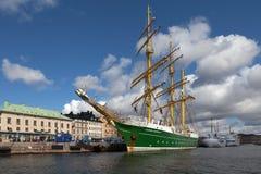 Nowy Niemiecki żeglowanie statek Zdjęcia Stock