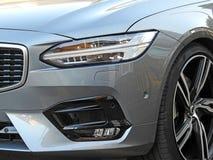 Nowy nowożytny Volvo projektuje panel i światła grono zdjęcie royalty free