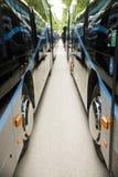 Nowy nowożytny miasto autobus Zdjęcie Stock