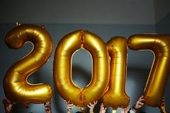 nowy numerowy rok Fotografia Royalty Free