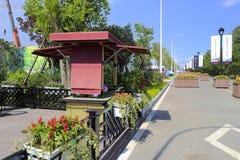 Nowy obszaru zamieszkałego yixishufu Fotografia Stock
