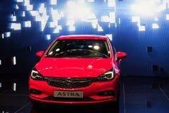 Nowy Opel Astra przy IAA 2015 Fotografia Stock