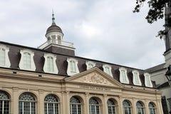 Nowy Orlean Cabildo Jackson kwadrat w mieście śmierć fotografia royalty free