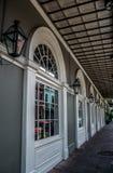 Nowy Orlean dzielnicy francuskiej Nafciane lampy Obraz Royalty Free