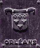 Nowy Orlean dzielnicy francuskiej plakieta Obraz Stock