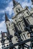 Nowy Orlean dzielnicy francuskiej saint louis katedra Obraz Royalty Free