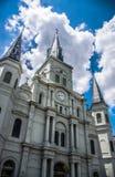 Nowy Orlean dzielnicy francuskiej saint louis katedra Zdjęcie Royalty Free