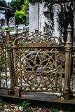 Nowy Orlean Lafayette Cmentarniana brama Zdjęcia Stock
