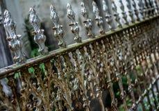 Nowy Orlean Lafayette Cmentarniana brama Zdjęcie Stock