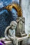 Nowy Orlean Lafayette cmentarza anioł Zdjęcia Royalty Free