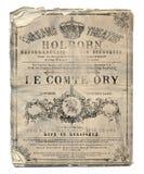 Nowy Orlean Le Comte Ory opery ulotka Zdjęcie Royalty Free