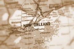 Nowy Orlean, miasto w U S zdjęcie stock