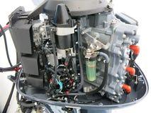 Nowy outboard parowozowy Yamaha 200 HP zdjęcie royalty free