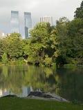 nowy park view obraz royalty free