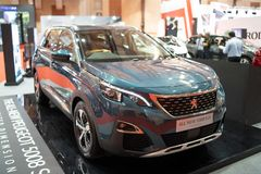 Nowy Peugeot 5008 obrazy royalty free