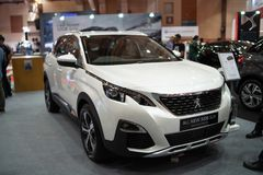 Nowy Peugeot 3008 suv obraz stock
