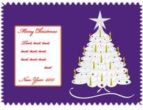 nowy pocztówkowy rok Zdjęcia Royalty Free