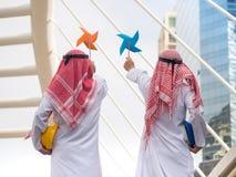 Nowy pomysł alternatywna energia, Wiatrowa energia obrazy stock