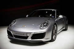 Nowy 2016 Porsche 911 Carrera S sportscar Fotografia Royalty Free