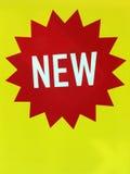 Nowy produkt rzeczy znak ilustracja wektor