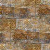 Nowy projekt nowożytna brown bezszwowa ściana Obraz Royalty Free