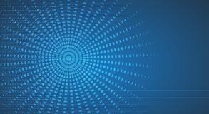 Nowy przyszłościowy technologii pojęcia abstrakta tło royalty ilustracja
