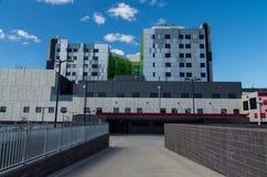 Nowy Pudełkowaty wzgórze szpital fotografia royalty free