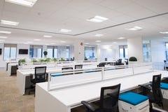 Nowy pusty biuro Obraz Stock
