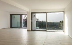 Nowy pusty mieszkanie zdjęcie royalty free