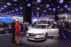 Nowy Renault talizman przy IAA 2015 Zdjęcia Royalty Free