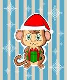2016 nowy rok śliczna małpa Obraz Stock
