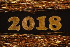 Nowy rok 2018 Zdjęcie Stock