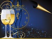nowy rok royalty ilustracja