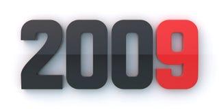 Nowy rok 2009 Obrazy Royalty Free