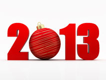 Nowy rok 2013 Obrazy Royalty Free