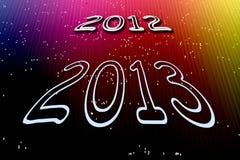 Nowy rok 2013   Obraz Royalty Free