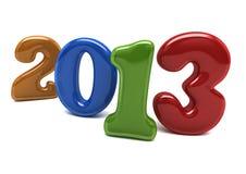 Nowy rok 2013 Fotografia Stock