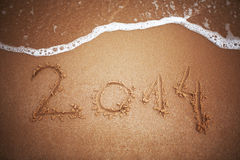 Nowy rok 2014 Zdjęcia Stock